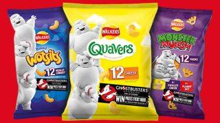 Walkers Ghostbusters promotional packs